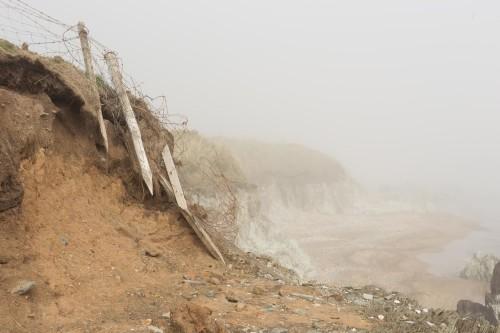 Mist descends